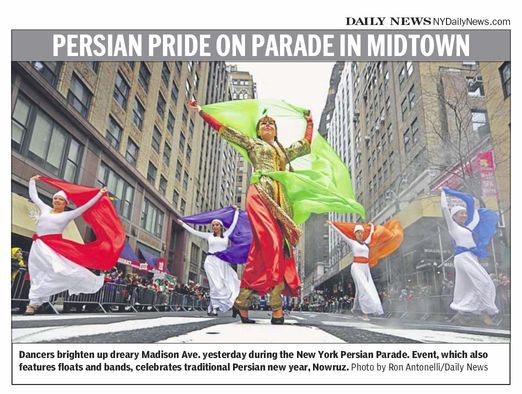 Persian Parade in Daily News